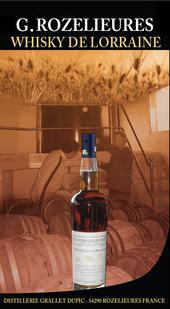 Whisky De Lorraine G.Rozelieures