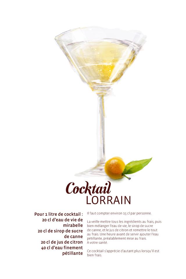Recette Cocktail Lorrain